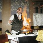 Banana's Foster Flambe tableside
