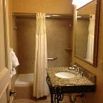 Room 624 Jr. King Suite Bathroom