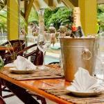 Navara Restaurant, Coconut Palms Resort, Outdoor Seating