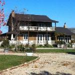 Honey Oak House in the Fall