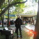 Live music in Camp Kitchen