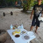 Get the Lunch on Beach package when Island hoping!!