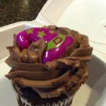 free birthday cupcake :-)