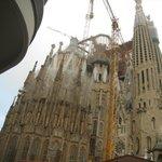 Sagrada Família Temple, Barcelona.