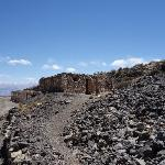 Ruins outside the mine