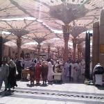 The Nabawi mosque..voila..! Right in your doorstep..