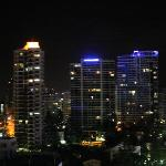City night view from our balcony