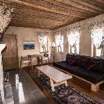 Our Argos suite living room