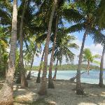 beach of the local village