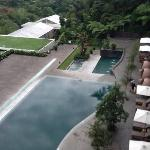 3 types of swimming pools at Padma Hotel