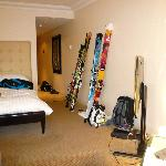 Bedroom cum Ski room
