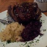 Stinco di maiale + crauti rossi e bianchi 17\11\2012