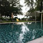 Lovely swimming pool.