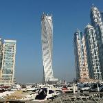 Dubai Marina early morning