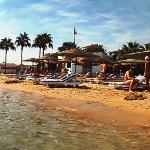 теплый пляж