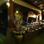 Restaurant - Special balinese BBQ night.