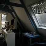 Panoramica della stanza