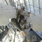 Un aereo con il pilota