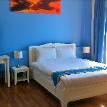 Villareal Heights newly added room with Mountain and Kata Town view