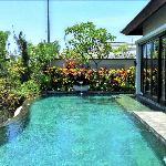 Double room villa pool
