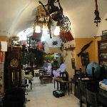 Decoración del salón / cocina