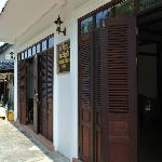 Entrance of the guest house