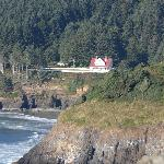 View from 101 south of Heceta
