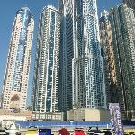 "The ""Super Talls"" at Dubai Marina"