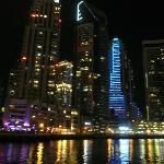 Dubai Marina Nightime