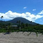 Mt Nevis from Nisbet Beach