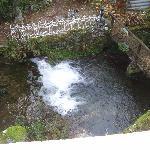 la petite cascade du Moulin