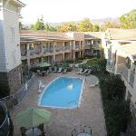 pool view/courtyard from 3rd floor