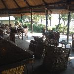 Boma with lounge and dining room