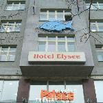 Hotel at street level, entrance through underground mall