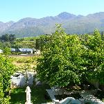 View towards Franschhoek Mountains from 1st floor sundeck