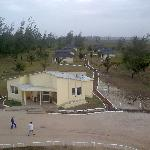 aerial view of half the bungalows