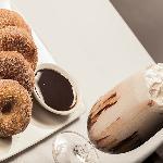 Warm Homemade Doughnuts