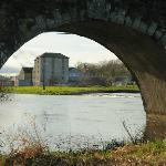 The view of the pottery through the bridge in Bennettsbridge.