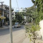 Meera Marg street, clean & quiet neighborhood