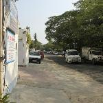 Meera Marg street, very nice and noise-free neighborhood
