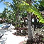 bord de piscine section Beach