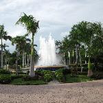 Fontaine du lobby