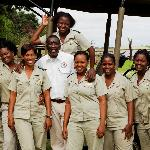 The Chobe Game Lodge team of safari guides