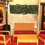 il salottino all'aperto ...tipico della zona... Felliniana di Via Veneto