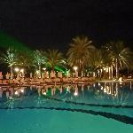 piscine soir