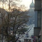 Утро ... спящий город