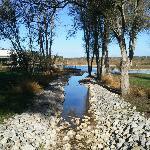 Pequeno lago perto do SPA