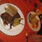 AMAZING food at Tamarindo!
