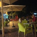 evening outside at san juan creativo