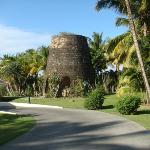 Sugar Mill at entrance to Galley Bay
